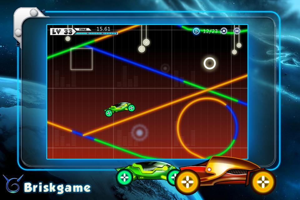 Screenshot Light Rider Lite