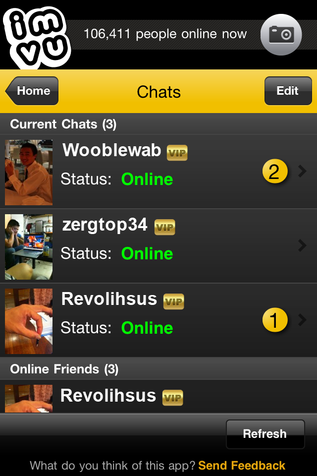 Image of IMVU 2Go for iPhone